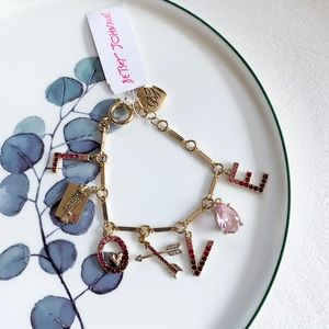 Betsey Johnson LOVE Bracelet